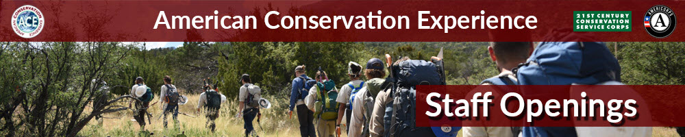 American Conservation Experience - Staff